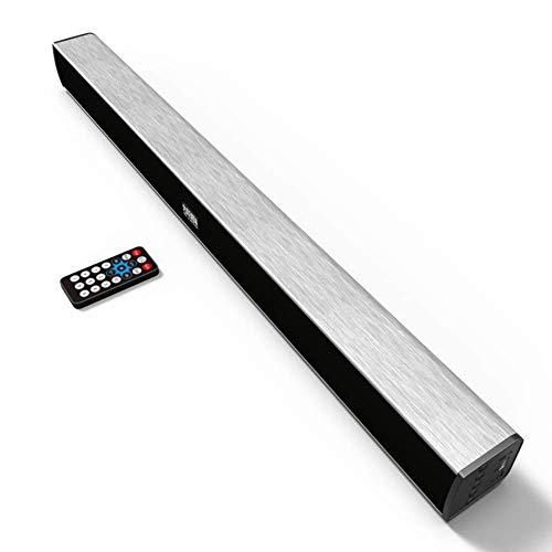 FACAI Lautsprecher Home-Audio-Lautsprecher 3-Sound-Bars mit Subwoofer 360 ° Virtual Surround Sound 100 W Super-High-High-Fidelity-TV-8-Geräte mit verlustfreier Qualität