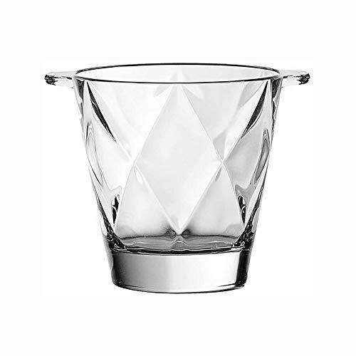 Cubo de Hielo para el Hogar/Bar Cubo de Hielo, Cristal Cubo de Hielo, Barriles Binaural Champagne Cubo de Hielo Rojo rombo Vino de Hielo Vino Inicio de Hielo Barra Barras de Hielo Barril de Vino