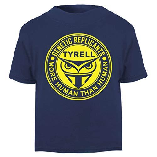 Cloud City 7 Blade Runner Tyrell Replicants Logo Baby and Toddler Short Sleeve T-Shirt