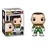 Galactic Toys Funko Pop TV: Metallic Unmasked Green Ranger Exclusive w Pop Protector
