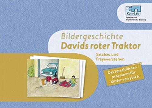 KonLab Die Satzfabrik: Davids roter Traktor: Bildergeschichte
