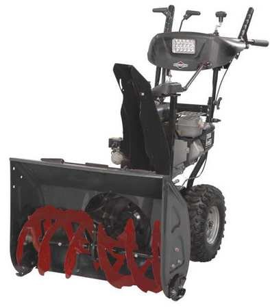 Review Briggs Stratton 27 in Dual Stage Snow Blower-250cc