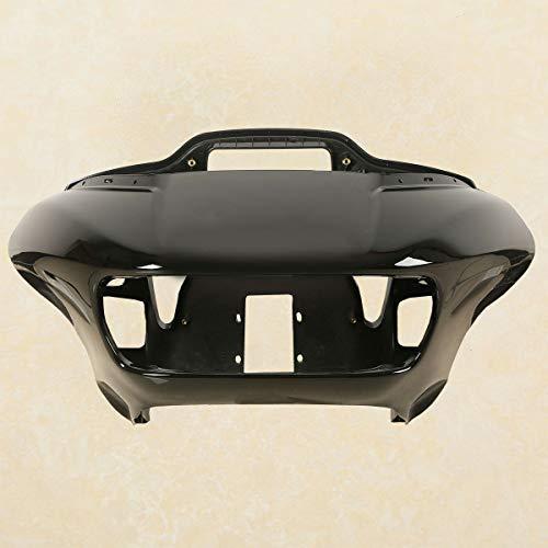 TCMT ABS Vivid Black Inner Outer Headlight Fairing Fits For Harley Davidson Touring Road Glide FLTRX 2015-2020