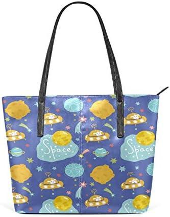 Deep Space Cartoon Alien - Colorful Super special price Large Universe Women's Direct sale of manufacturer Light