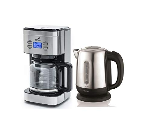 SENYA SYPK-006 Programmable INOX Family Coffee...