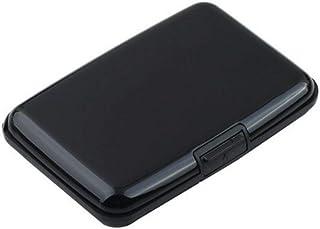 Portable Anti-Magnetic Metal ID Credit Card Wallet Holder Purse Pocket Case MN Black
