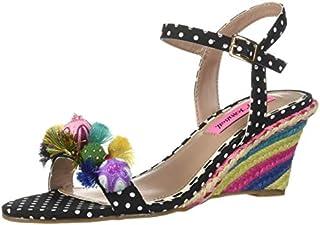 Betsey Johnson Women's Koko Wedge Sandal