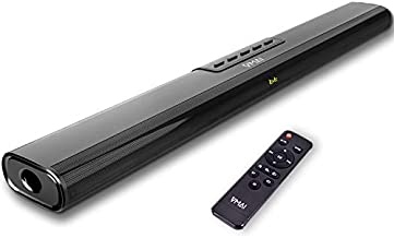 Sound Bar, Sound Bar for TV, Soundbar with Built-in Subwoofer, Wired & Wireless Bluetooth 5.0 Speaker for TV, HDMI/Optical/Aux/USB, Wall Mountable, Surround Sound System for TV & Home Theater 2021 NEW