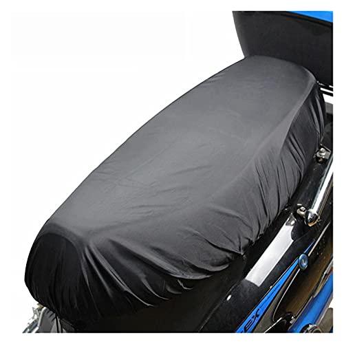 Cojín de Asiento de sillín de Moto Fundas de Asiento de Motocicleta Funda de Asiento de Scooter Funda Impermeable para la Nieve Parasol cojín de Lluvia UV Antipolvo Alfombrilla de Tela Oxford