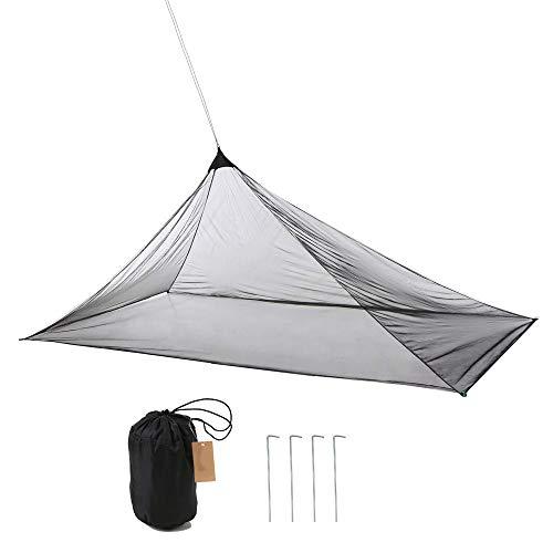 LULUVicky Camping TentUltraligero Repelente de Mosquitos, Red de malla al aire libre Bugs ShelterFestival Tienda