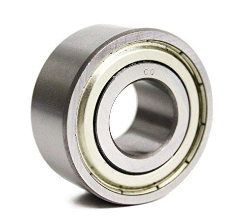 3200 ZZ 2Z / 3200z Schrägkugellager zweireihig 10x30x14 mm/glasfaserverstärkter Polyamidkäfig (TN) / Industriequalität