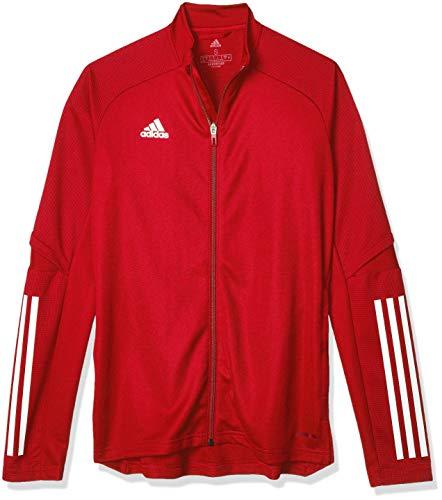 adidas Condivo 20 Training Jacket Chaqueta Entrenamiento, Mujer, Team Power Red/White, L
