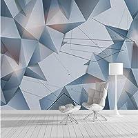 ホーム改善壁の3D壁紙3D装飾壁紙3D幾何学的な抽象的な線テレビの背景の壁紙壁画3D,350(W)*256(H)Cm