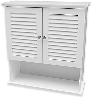 Summit Wall Cabinet in White