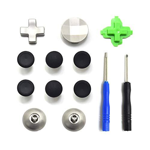 Tomsin, magnetische Daumensticks, Analog, Joysticks für Xbox One Controller, T8 Schraubendreher, Ersatz-Reparatur-Set für Xbox One X One S Elite Controller (11-in-1)