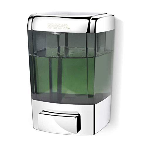 XYL dei consumatori e Commerciale a Parete Sapone Dispenser di Sapone Gel Doccia Dispenser per Il Ristorante Bagno con Doccia cucine ABS Cromato 700ml