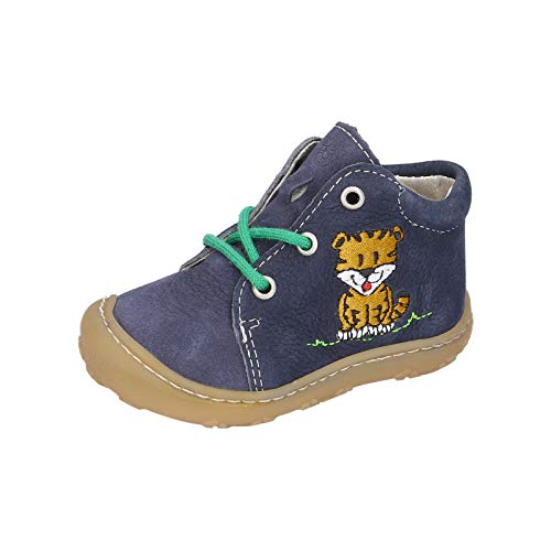 RICOSTA Pepino garçon Bottes, Boots Lucky, Gamin Chaussures bébé,Chaussure à Lacets,Flexible,Largeur: Normale (WMS),See,21 EU / 5 Child UK