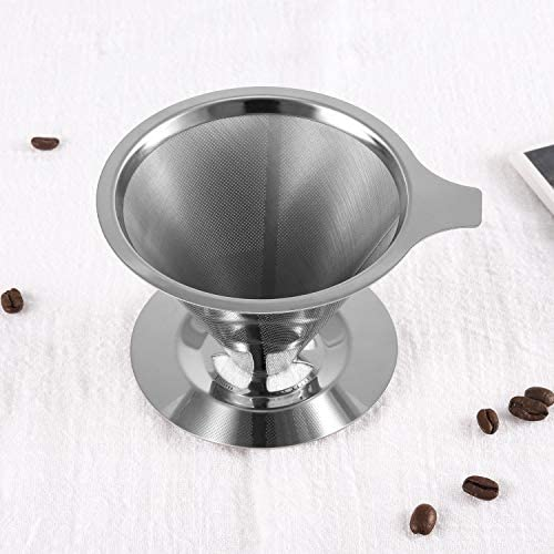 Top 10 Best reusable pour over coffee filter Reviews
