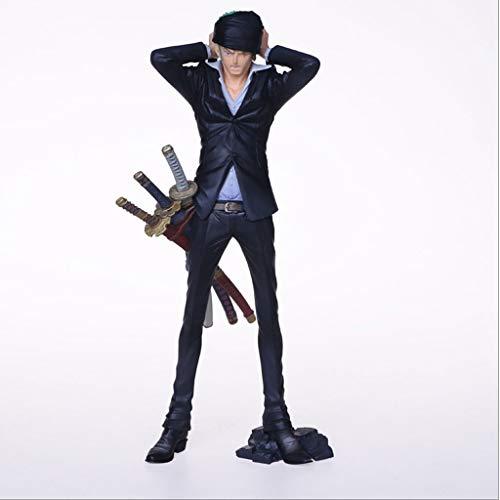 CQHJ zwart pak van Roronoa Zoro beeldje Anime Verzamel uit een stuk een geschenk voor Anime Fans CQ