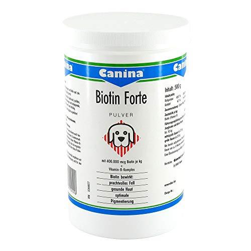 Biotin Forte für Hunde Pu 500 g