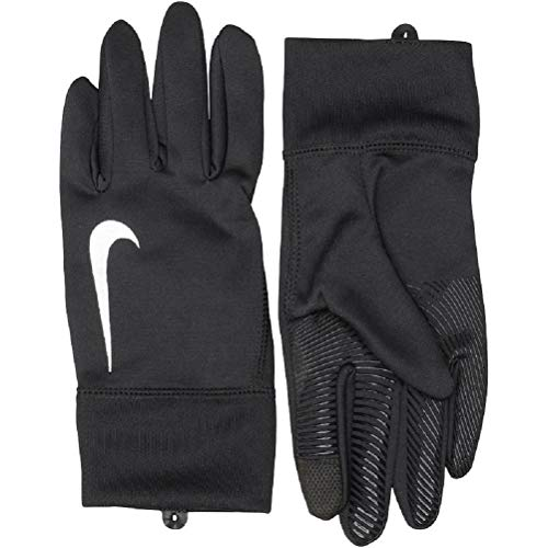 Nike Junior Youth Therma Grip Fußball Feldspieler Handschuhe, Kinder, NWGI6058SL, Schwarz, Small Boys 8-10 Years