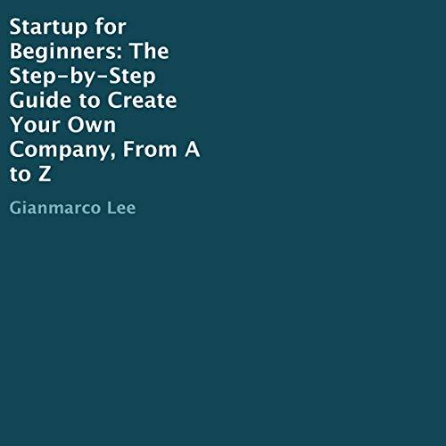 Startup for Beginners audiobook cover art