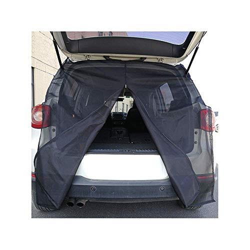 NACHEN Mosquiteros para automóvil Cubiertas para automóviles Puerta Trasera del automóvil Mosquitera magnética Malla de ventilación para Acampar Pesca Recorrido autónomo,Small