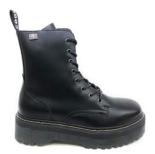 BUONAROTTI Botin Militar COOLWAY Doble Piso - 1162300204072 Color Negro Talla 40