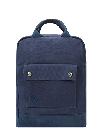 Mi-Pac Tote Backpack Mochila Tipo Casual, 40 cm, 15 litros, Canvas Navy