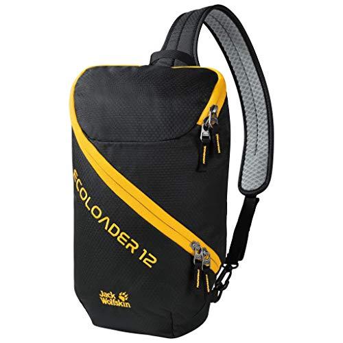 Jack Wolfskin Ecoloader 12 Rucksack Unisex, Black, ONE Size