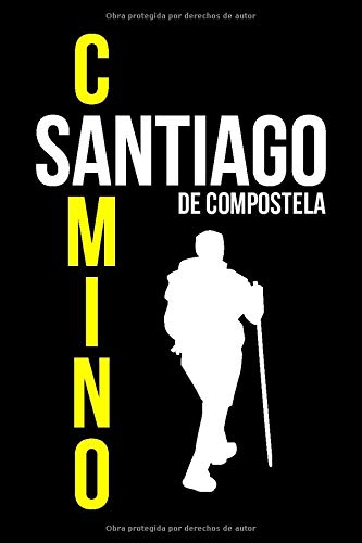 Camino Santiago De Compostela Notebook: 120 Seiten I Weißes Papier I Gepunktet I