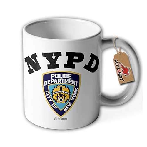 NYPD Tasse New York City Police Polizei NY #35670