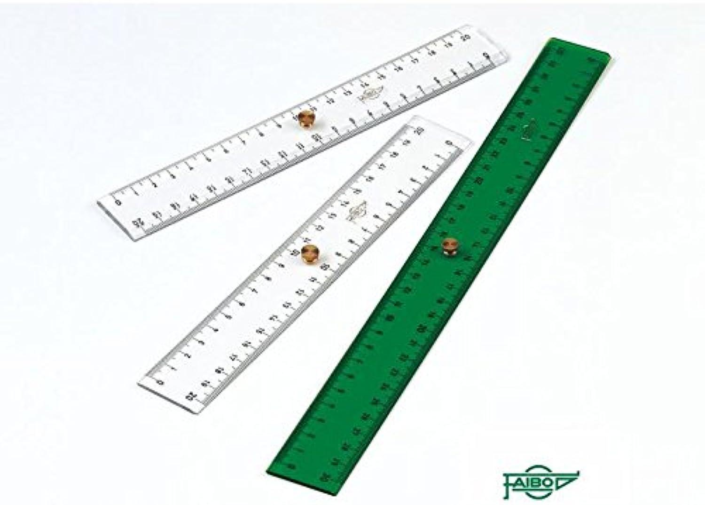tienda de venta en línea Faibo Faibo Faibo Dobles y triples decímetros para dibujo técnico (20 cm.)  online al mejor precio