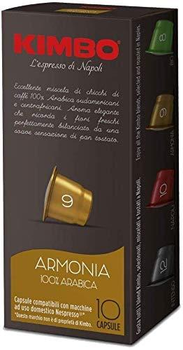 CAFÉ KIMBO ARMONIA - 10 CÁPSULAS COMPATIBLES NESPRESSO 5.5g