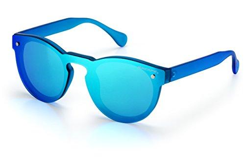 Excape by Living Occhiali da sole linea Me Too Modello 1.6 azzurra trasparente opaca