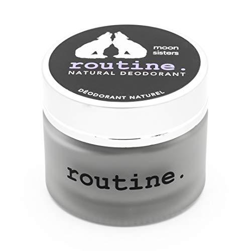 Routine Natural Deodorant - Moon Sisters: Activated Charcoal, Magnesium & Prebiotics - 58g