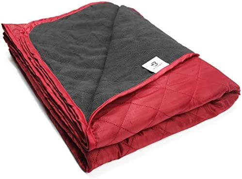 Bessport Camping Blanket Warm Lightweight 800g Quilted with Extra Thick Fleece Throw Blanket product image