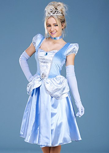 Disfraz de Disney Cinderella Medium (UK 12-14)