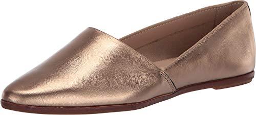 ALDO Women's Blanchette Slip-On Flat Loafer, Bronze, 9