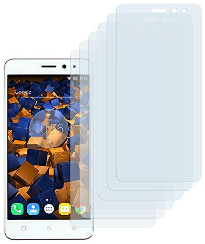 mumbi Schutzfolie kompatibel mit Lenovo K6 Folie klar, Bildschirmschutzfolie (6X)