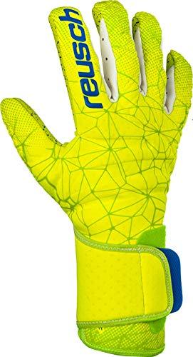 Reusch Herren Pure Contact G3 Fusion Torwarthandschuhe, Lime/Safety Yellow, 10