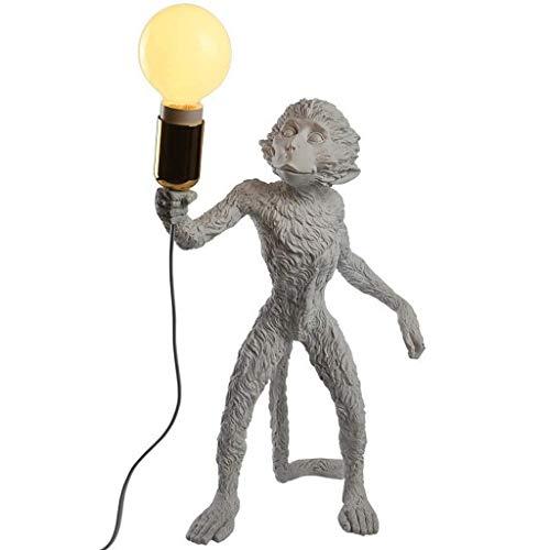 JYDQM Lámpara de Mesa Moderna, lámpara de Escritorio Monkey, iluminación de Mono de Resina for Sala de Estar, Dormitorio, Oficina, Dormitorio Universitario