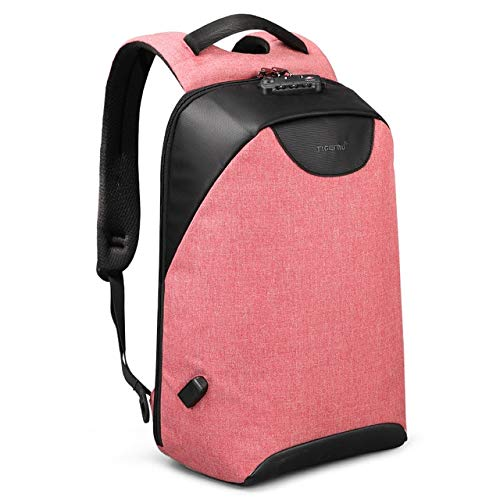 QPYYBR Mochila antirrobo para mujer, mochila para ordenador portátil, mochila escolar con carga USB para adolescentes, mochila para mujer, bolsa de equipaje
