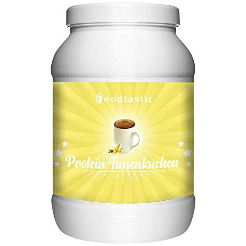 Foodtastic Protein Tassenkuchen Vanille 750g | Eiweiß-Backmischung | leckerer Mug Cake Mix | kohlenhydrat-reduziert, schnell zubereitet
