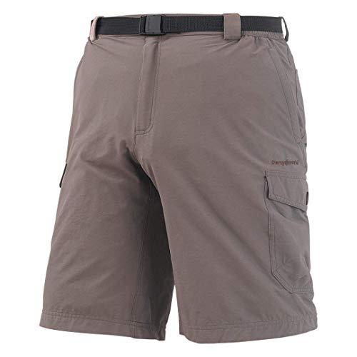 Trangoworld muzaf Pantalon Bermuda, Homme L Marron (marrón Bungee)