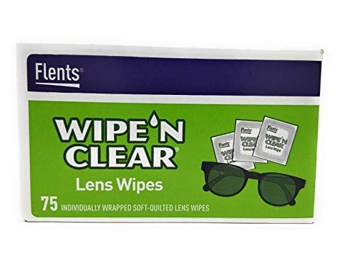 WIPE'N Clear Lens Wipes 75 Count