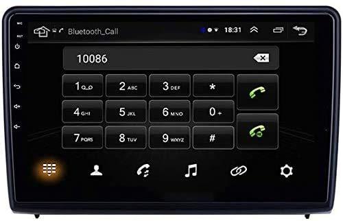 BUSUANZI GPS 2 DIN Nav Car Stereo Multimedia Radio Auto Player - para Ford EcoSport 2018 2019, navegación navegante navega con reflejados,4g+2g+32g