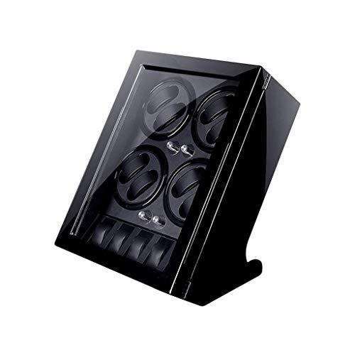 WYZXR Holz Shell Box 4 Rotationsmodi für 8 Aufzugspositionen und 5 Uhren Aufbewahrungsbox