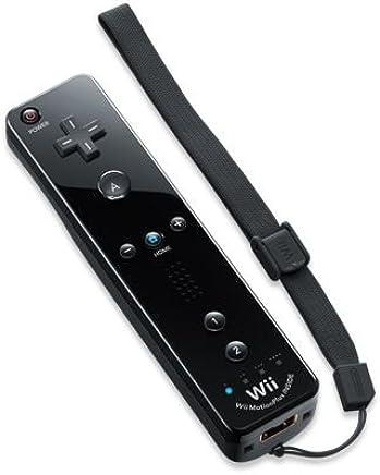 Nintendo Wii/Wii U - Mando Plus, Color Negro