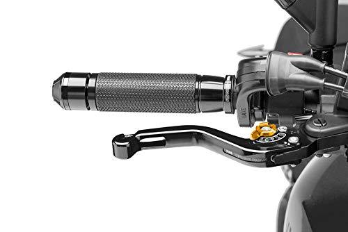 Puig 5859N1302 Brems-Kupplungshebel MT-03 (RH07) 2016- kurz schwarz Set